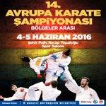 14. Avrupa Karate Şampiyonasına ev sahipliği yapıyoruz. Avrupanın en iyi karatecileri Kocaeliye geliyor https://t.co/DzGfgzbQ3a