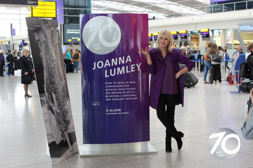 We're 70 today! To celebrate, @JoannaLumley is here to unveil our iconic moments.