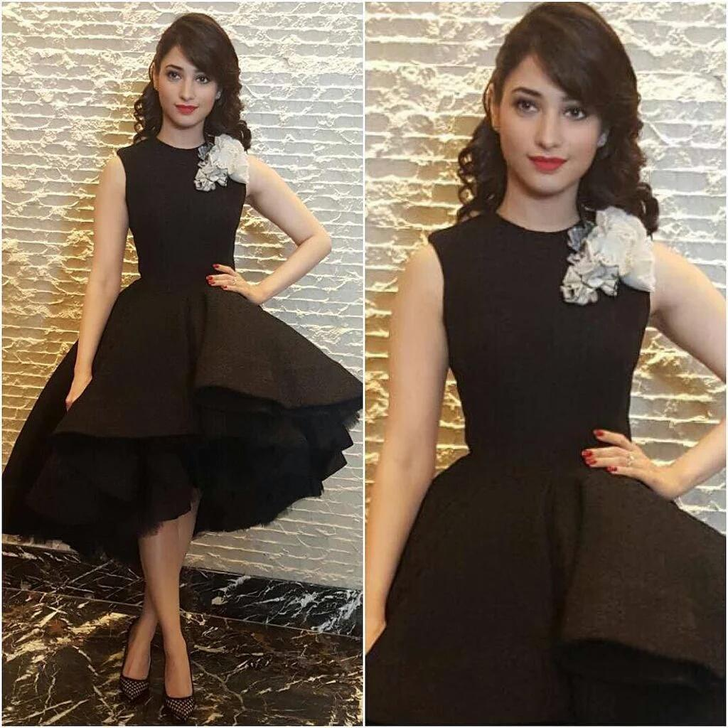 Tamannaah at Baahubali Movie promo