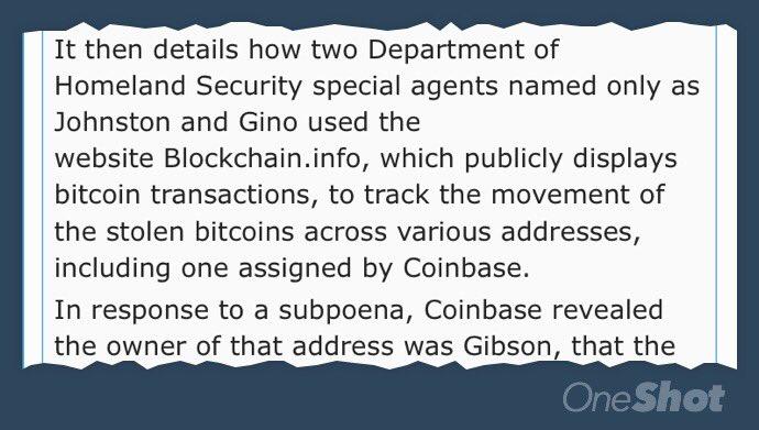 Bitcoin is not anonymous. Bitcoin is not anonymous. Bitcoin is not ... Coinbase is *definitely* not anonymous https://t.co/CDHdw0YaPr