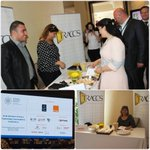 HRH Princess Sumaya bint El Hassan visiting #TRACCSJordan booth at @arabadvisors Conference #Aatechcon #Jordan #PR https://t.co/vfjdyfiTFV