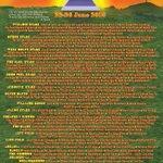 The full #Glastonbury2016 line-up poster is here! Get full day / set times info at https://t.co/KX0wOkaITk https://t.co/BnRl8JcoJE