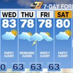 Plenty of chances to mow the grass and hit the pool this week! #27Daybreak https://t.co/qCBssU2PVd