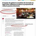 La votación conjunta en #plenogr de PP + VAMOS GRANADA (PODEMOS + EQUO) + IU impide a los granadinos ahorrar dinero. https://t.co/1R4BonQ9XD