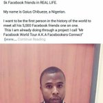 All he wanted 2do was meet & help his Facebook friends. But Nigerians. Savage level 1,499,321,509% #TrailerJamShow 😂 https://t.co/3KqGntsJJm