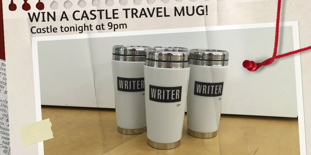 Win 1 of 11 #Castle travel mugs! Just RT & follow us by 31/05 10pm tonight to enter. T&Cs: https://t.co/uztlBKMxNb https://t.co/ytJ6JEoIE5
