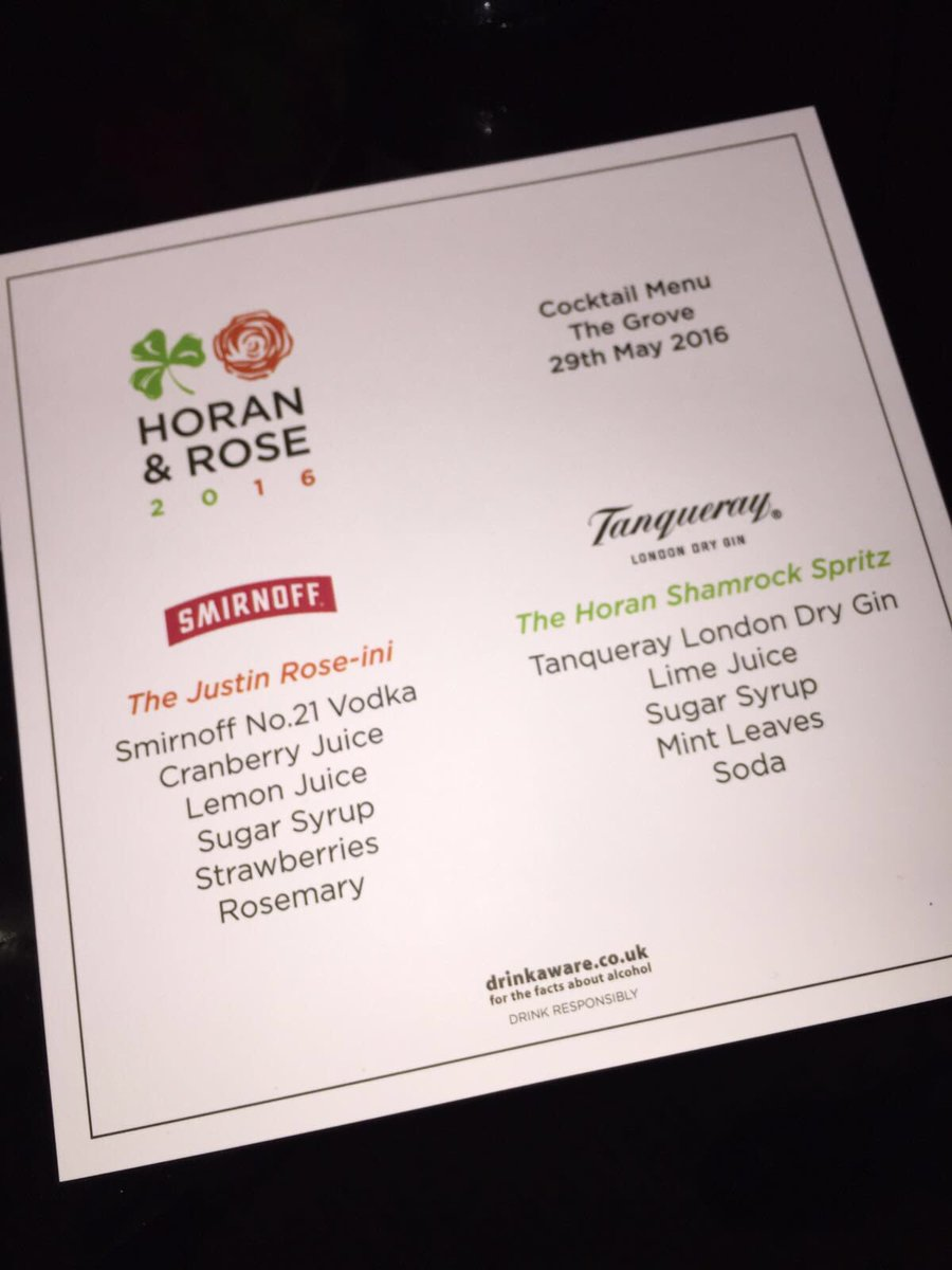 There were some interesting cocktails consumed by all at the #HoranRose charity dinner Sunday night https://t.co/n4etcIExVb