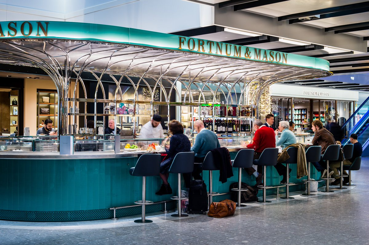 RT @Fortnums: CHEERS! Happy Birthday @HeathrowAirport We're so proud to be a part of the memories LHR70 https://t.…