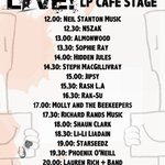 LP CAFE STAGE 11 June 16: @papermouthpromo #musicday @WatfordLiveFest #live #music #festival #bands #watford #local https://t.co/ujTXg3RzEN