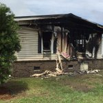 Severe damage to house after a fire sends kids to the hospital. @ABCNews4 #chsnews #sctweets https://t.co/WvQJUTGF4j