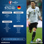 OFFICIAL #EURO2016 SQUAD Germany announce their 23... https://t.co/LpRhRIFJuh