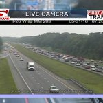 I-26 EB at College Park Rd. showing slow traffic, no accident in the area. #chstrfc https://t.co/lJpygcsbaL