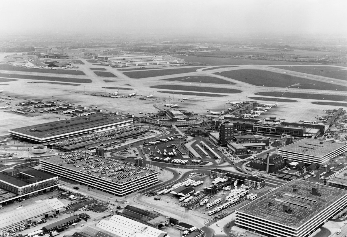 Happy Birthday! Heathrow Airport celebrates its 70th birthday!