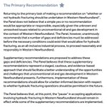 Here is the fracking panels main recommendation. #nlpoli https://t.co/TXB3POJRnG