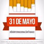 Todos los dias debe ser sin tabaco, pero hoy tienen que hacer un mayor esfuerzo #DiaSinTabaco https://t.co/63yzZHvdl1