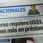 Miren el titular de la prensa de hoy. Van a sacar de nuestras costillas lo que usaron para comprar las elecciones. https://t.co/MUEkGHmOgW