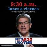 Sintoniza @NotiUno lunes a viernes 9:30am para que escuches las ideas y propuestas de @carlosipesquera. l https://t.co/MhXmWGfgSv