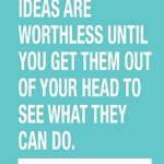 """Ideas are worthless until you get them out of your head to see what they can do."" #TuesdayMotivation #Business #biz https://t.co/5Q7w7slHuq"