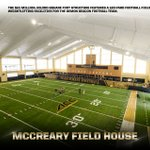 Take a look at this shot of the new McCreary Field House.  #WAKEup17 #WhosNext https://t.co/MgE016vHd7