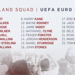 BREAKING: Townsend and Drinkwater miss out on the England squad. Rashford and Sturridge remain. https://t.co/wPtunBEzwz