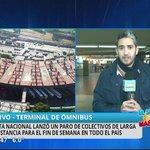 Paro de colectivos de larga distancia - El Show de la Mañana #Córdoba https://t.co/Bsy6Ere6fz https://t.co/OxR5764plF