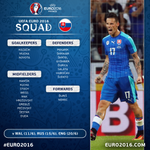 OFFICIAL #EURO2016 SQUAD Slovakia announce their 23... https://t.co/ygZIUP6G2T