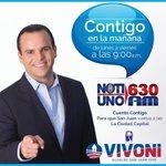 Ahora en vivo por @NotiUno #ContigoenlaMañana @sinfiltro740 @Hjtorrespr.. El 5 de junio, cuento contigo #Vota1 https://t.co/3uSmpzyAHq