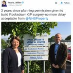 Dear @Jeremy_Hunt our local Tory MP & Cllr cant get local NHS to build much-needed surgery,they have cash & approval https://t.co/ZXDfLfKS5z