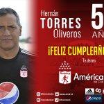 Hoy está cumpliendo años nuestro estratega Hernán Torres, le deseamos un venturoso día y muchos éxitos. https://t.co/Y0EZFbq0Zw