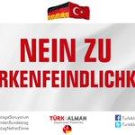 NEIN ZU TÜRKENFEINDLICHKEIT  1 Juni | 18:00 | Brandenburg  #BundestagdaSoykırımYalanı https://t.co/0ThAmlFjRc