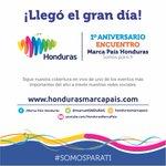 ¡Hoy celebramos un año de grandes logros! #1erAniversario #EncuentroMarcaPaísHonduras #SomosParati https://t.co/TULwW6G09u