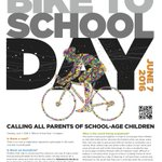 One week until Calgary Bike to School Day, time to ramp up the hype! Spread the word, lets have thousands of riders. https://t.co/3EpLDB0sCm