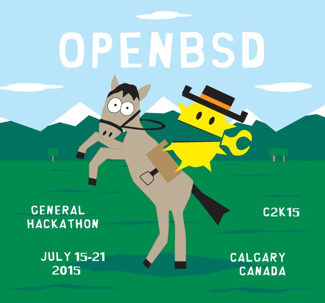 I still say that OpenBSD has some of the best event illustrations. https://t.co/3nWymXkjeh