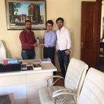 YY Baskanimiz BB Dış ilişkiler Daire Başkanı Mustafa Ermis i makaminda ziyarette bulundular @rizasumer @OmerAKBAS2 https://t.co/r6KQetyFIq