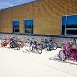 The bike racks are filling up! Keep it up Astros! #biketoschool @c_hadfieldps @PeelSchools https://t.co/z7JV1VhGLf