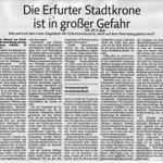 #Erfurt billigt Abriss von #Denkmal zur #BUGA2021 dazu Leserbrief aus der @TLZnews @BenjaminHoff @miplotex https://t.co/7ugkLQkwTQ
