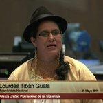 Asambleísta @lourdestiban1 explica proyecto de resolución de solidaridad con el pueblo de Saraguro https://t.co/3APlPQLzz3