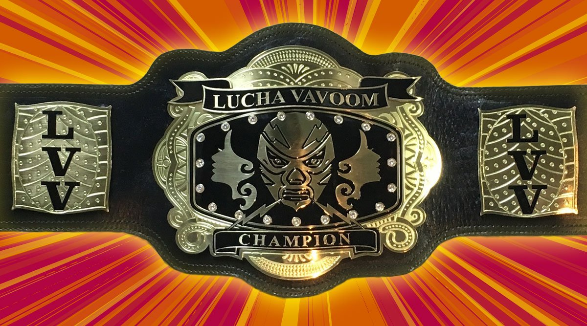 Forged in the volcanic heart of the Downtown LA's Mayan Temple our championship belt is finally ready!! #GlamSlam https://t.co/qy2kcZb1rl