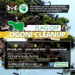 President Buhari will flag off the Clean-Up of Ogoniland in Boro on June 2, 2016. Host: @AminaJMohammed #NDCleanUp https://t.co/bVptTDpfqQ