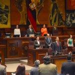 Iniciamos Sesión 390 de @AsambleaEcuador con el Proyecto de Resolución de Declaratoria al 1ro de Junio #DíaDeLaNiñez https://t.co/kxt3KOxJVl