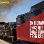 En #Riobamba el único que puede botar humo es el tren crucero! #DiaSinFumar .@MashiRafael https://t.co/lAZp6fJKcj