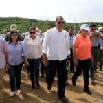 Presidente @MashiRafael recorre junto a Ministra @susana_du albergue #ElMatal con capacidad para 1.000 personas https://t.co/PQvIjaLHxq