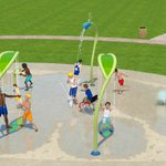 Celebrate the grand opening of our new splash pad! Join the fun June 4, 11am at Woodbine Park, 1180 Woodbine Rd. https://t.co/b8LrhtHGZD