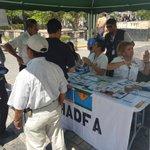 Personal del CAI-SPS del @IHADFA informando sobre los daños que causa el consumo de tabaco. DÍA MUNDIAL #SINTABACO https://t.co/zHMFP6hp2i