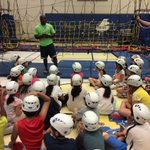 Preparing for @JungleSport action. Safety is key!! Gr 3s Excellent listeners Great instructors @PeelSchools https://t.co/AbAnZOEXQy