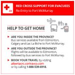 .@redcrosscanada is offering transportation for those affected by #ymmfire to return home https://t.co/2vPtSXfoH7 https://t.co/VgL5jcvPFT