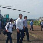 Presidente @MashiRafael trabaja desde Jama, #Manabí realizando visitas a los albergues instalados. https://t.co/KvYRuaywyq