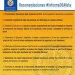 Nuestras recomendaciones para superar crisis #Venezuela #InformeOEAVzla https://t.co/NJ0h7FLRUH https://t.co/IOv7GDNYbA