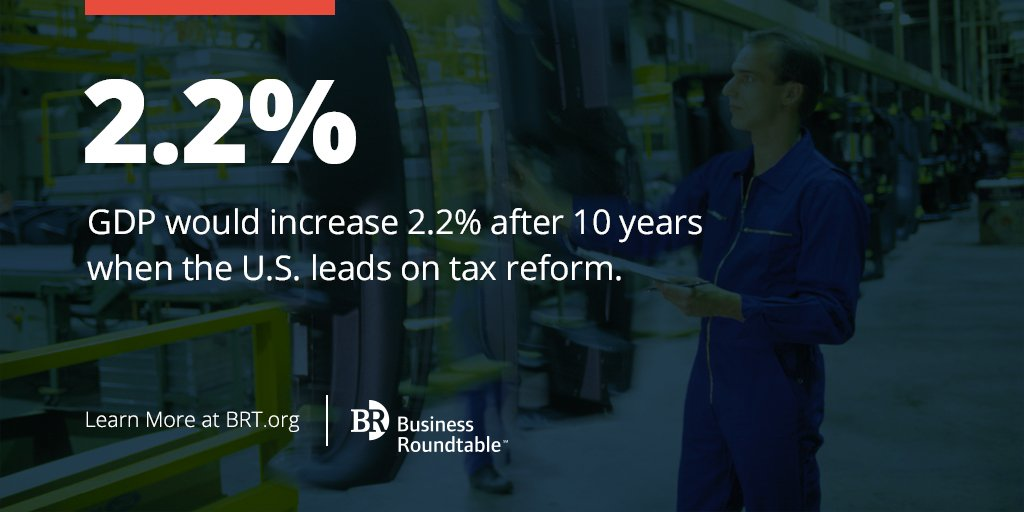 Did you know a modernized tax system will grow US GDP by 2.2% over 10 years? Learn more: https://t.co/XVojtYjDg2 https://t.co/6rvNhAErDF