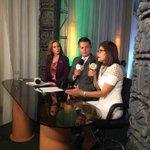 La Ministra Asesora de Estrategia y Comunicación @HildaHernandezA da entrevista en vivo a @televicentrohn. https://t.co/Nl4wgae8tg